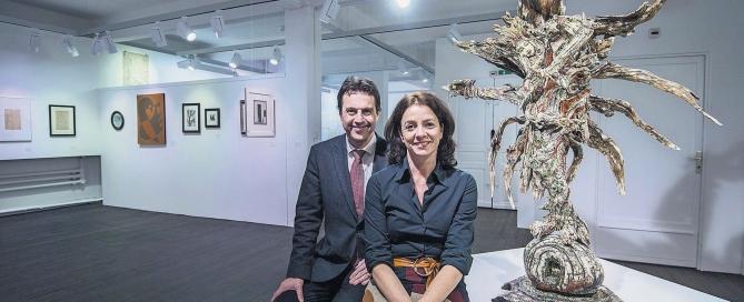 Karin und Gerhard Dammann sammeln Kunst von psychisch Kranken. Sammlung im Museum im Lagehaus